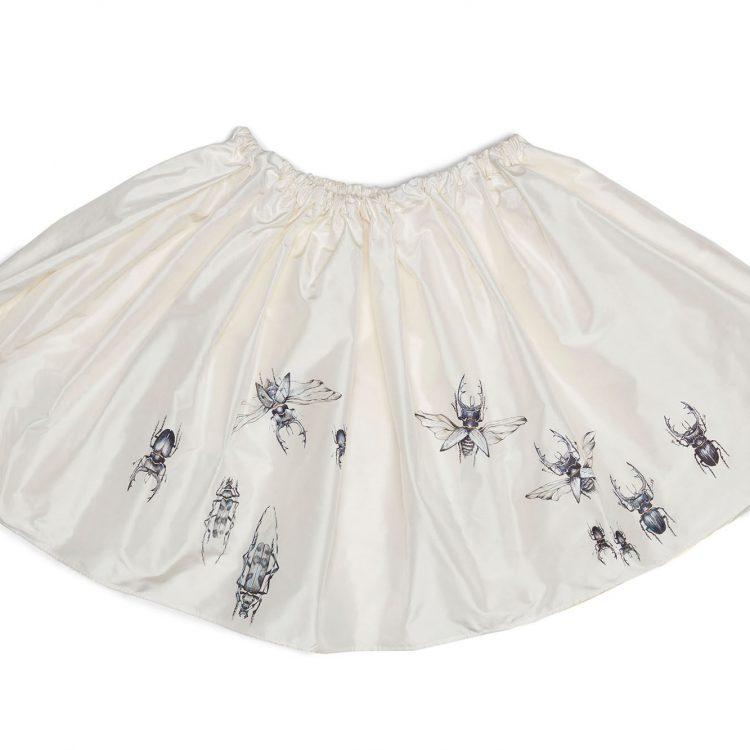 ręcznie malowana spódnica